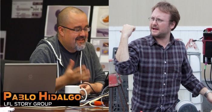 Pablo Hidalgo and Rian Johnson