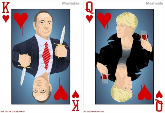 House of Cards' Playing Cards