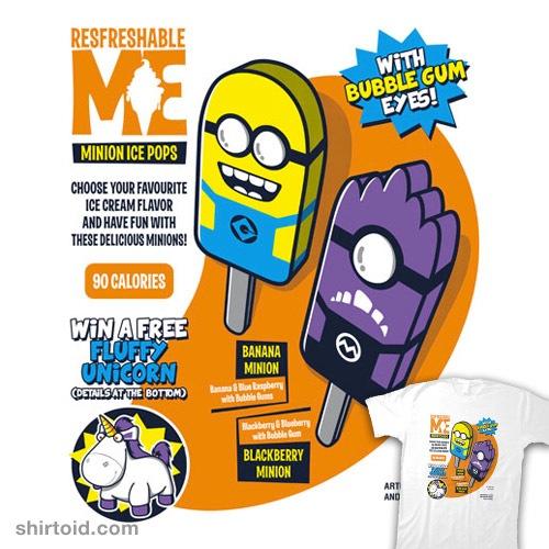 Minion Ice Pops t-shirt