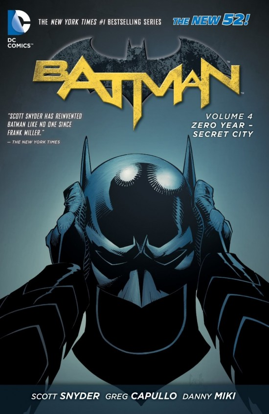 Batman Vol. 4: Zero Year-Secret City