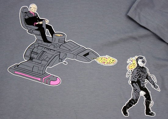 Picard Pizza Shirt
