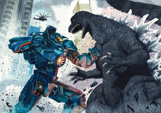 Godzilla pacific rim
