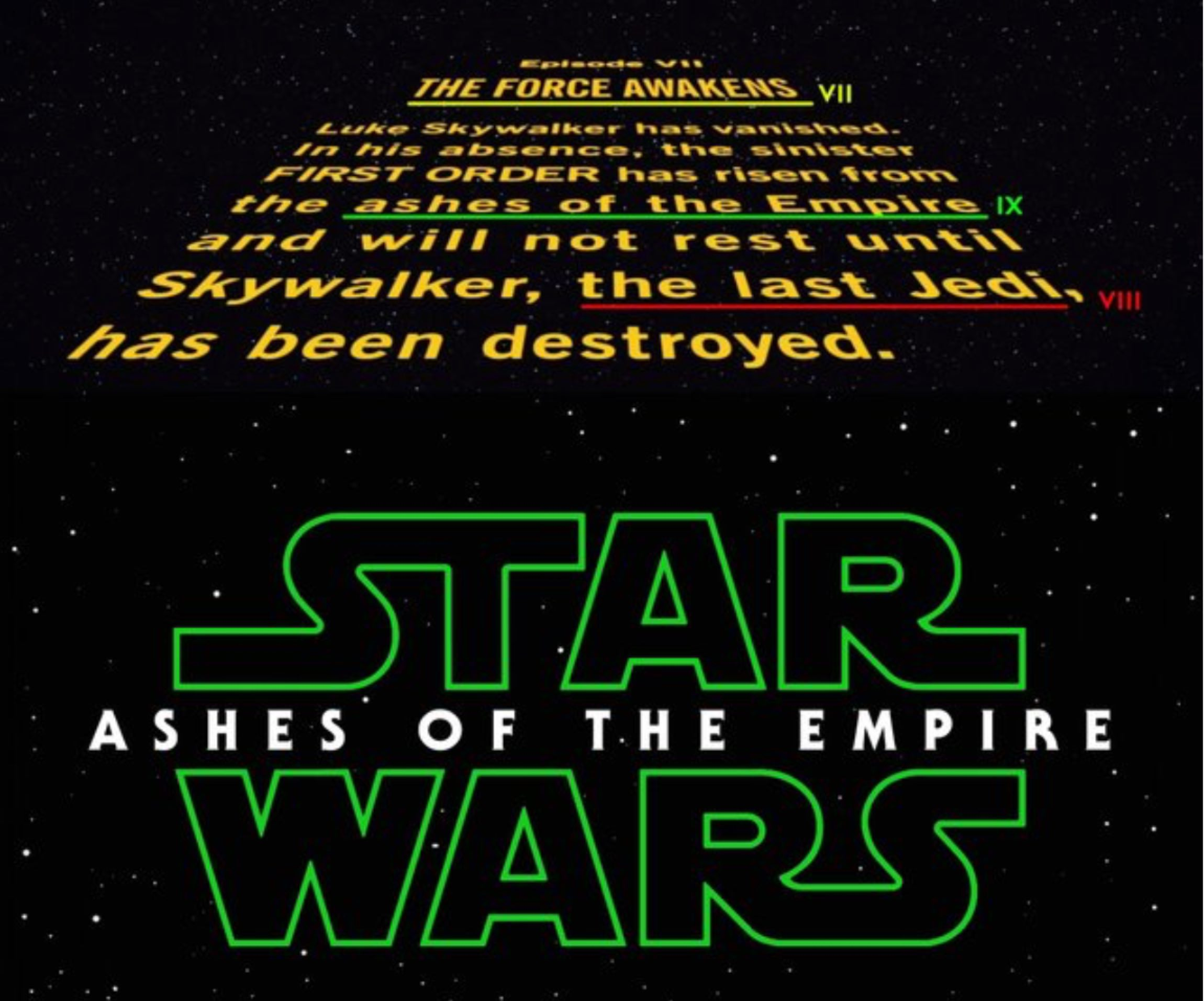 Star Wars Episode 9 Title: Let's Speculate About It – /Film - photo#15