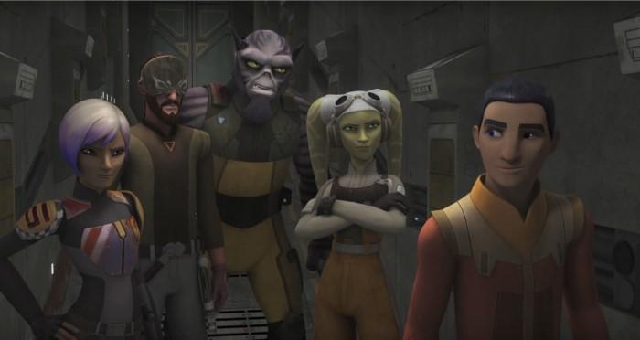 Rogue One Character in Star Wars Rebels season 3