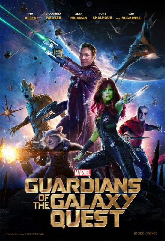 Guardians of the Galaxy Quest