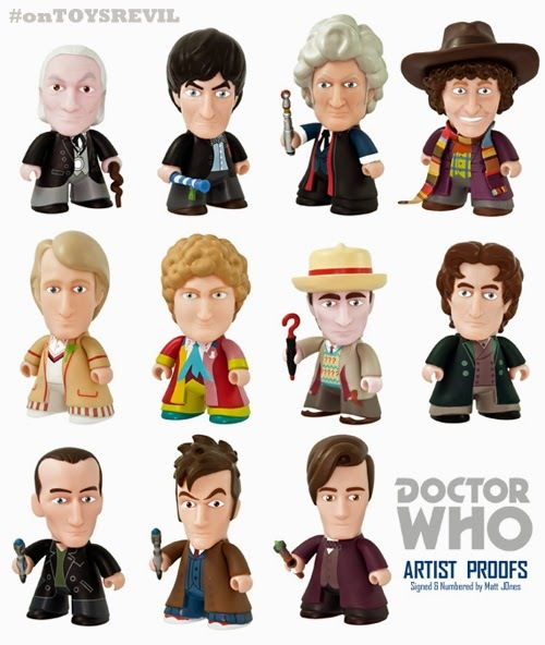 50th Anniversary Doctor Who Artist Proofs from Lunartik Available Now