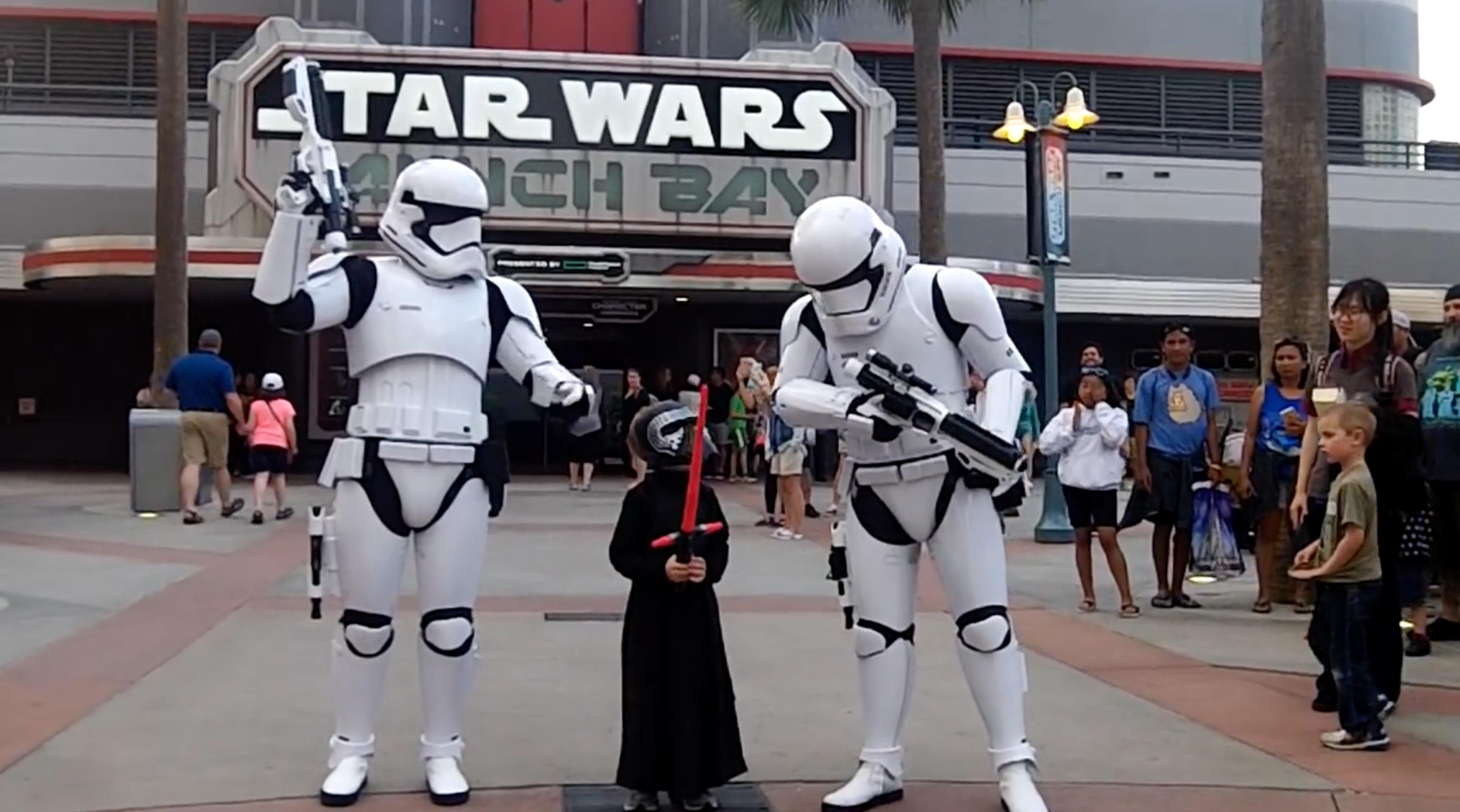 See What Happens When Little Kylo Ren Visits Disney World