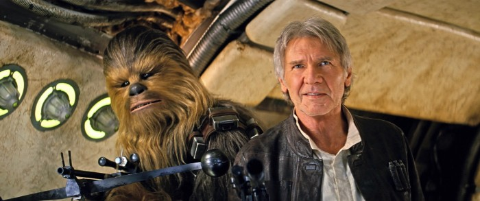 Star Wars: The Force Awakens Han Solo and Chewbacca