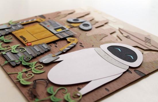 WALL-E papercut