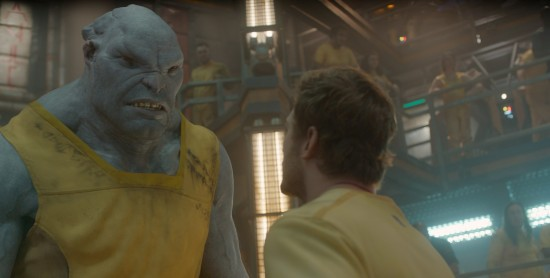 Nathan Fillion in Guardians of the Galaxy