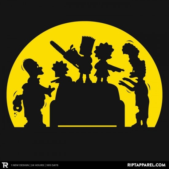 Doh! Zombies! t-shirt
