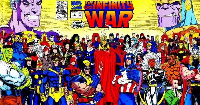 Infinity War comics
