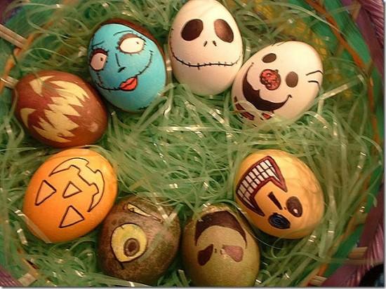 Nightmare Before Christmas Easter Eggs