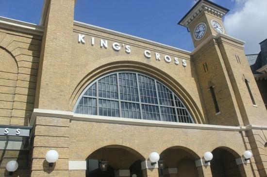 King's Cross Station in Universal Studios Orlando