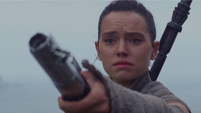 Rey in the force awakens ending