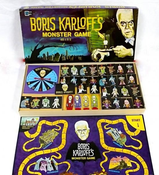 Boris Karloff's Monster Game