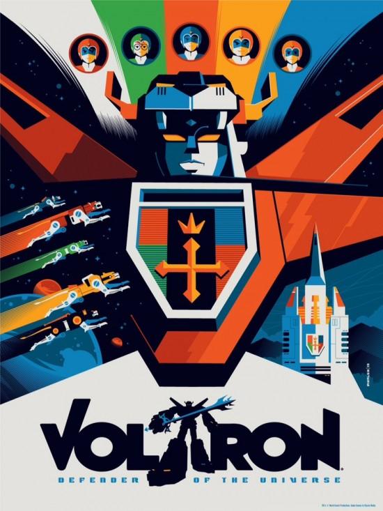 Voltron By Tom Whalen
