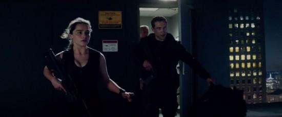 Emilia Clarke and Jai Courtney Terminator Genisys