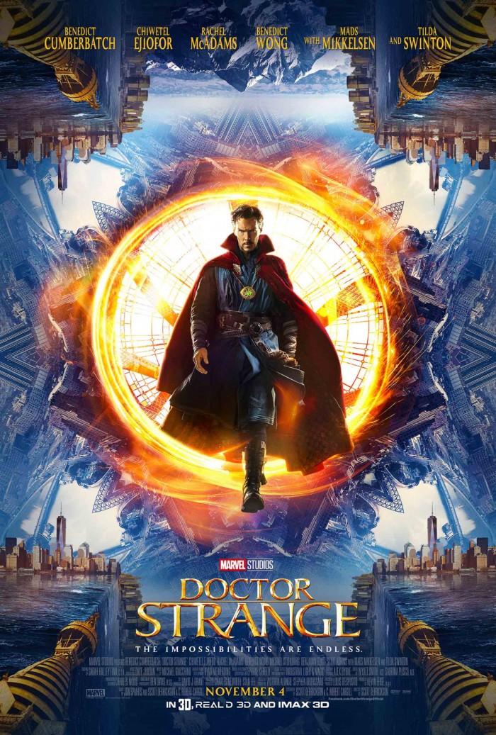 comic con doctor strange poster