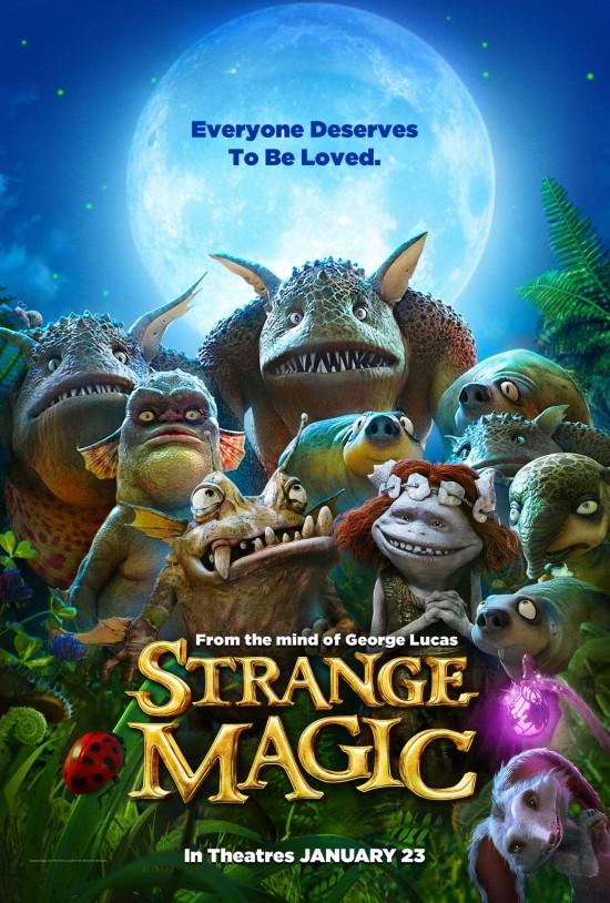 Poster for Lucasfilm's Strange Magic