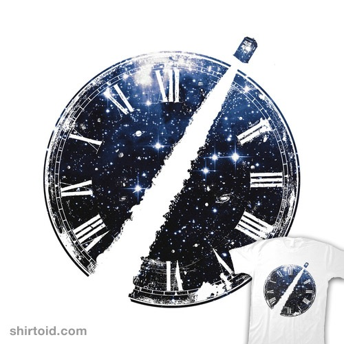 Journey Through Time and Space t-shirt