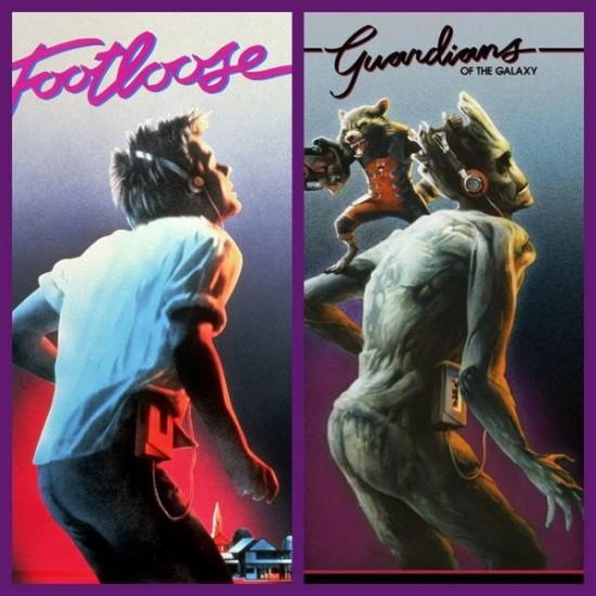 Guardians of the Galaxy Footloose
