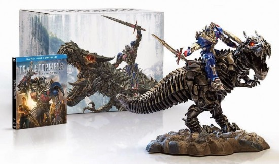 Transformers: Age of Extinction Limited Edition Blu-Ray Gift Set