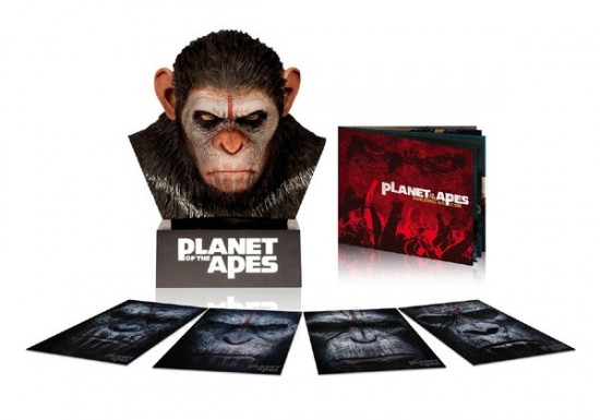 Planet of the Apes Caesar's Blu-ray Warrior Collection