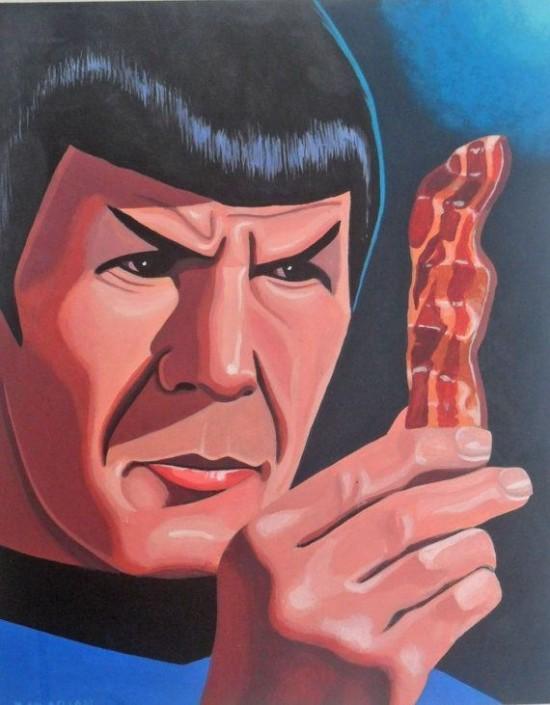 Star Trek + Bacon = Art