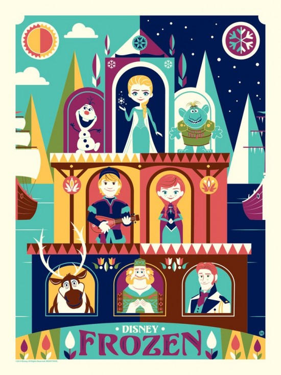 Greetings from Arendelle by Dave Perillo
