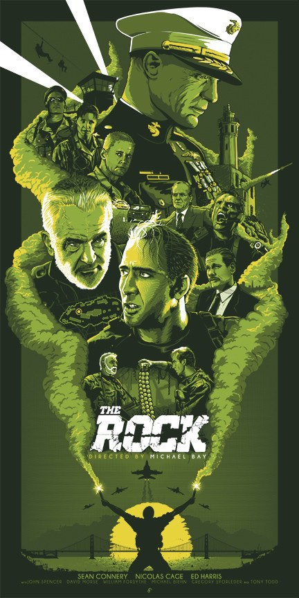 """""""The Rock"""" Green Variant By Barbarian Factory / Patrick Connan"""