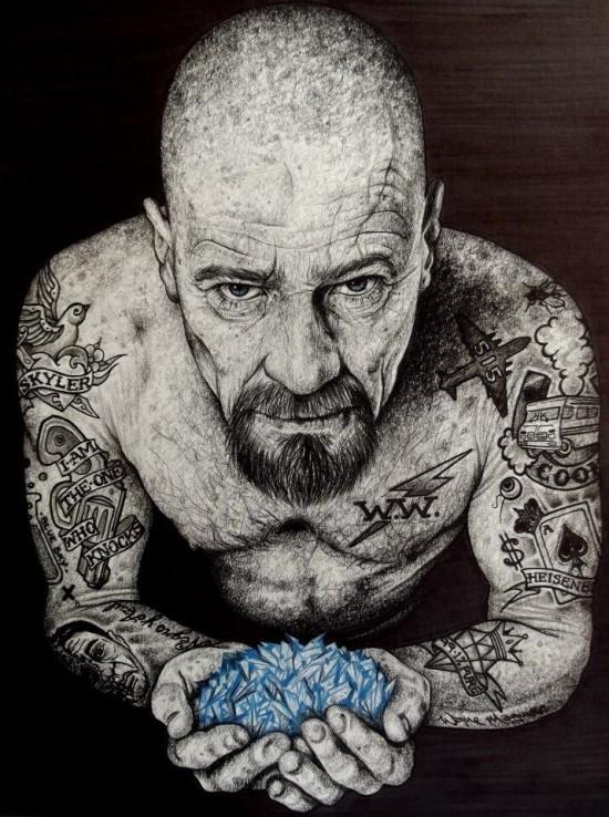 Wayne Maguire's Breaking Bad art