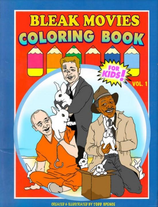 'Bleak Movies' coloring book