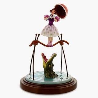 Haunted Mansion Figure - Ballerina and Alligator