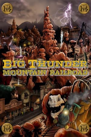 ig Thunder Mountain Railroad comic book