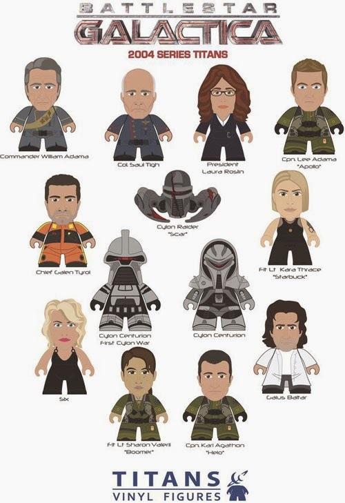 Battlestar Galactica 2004 Series TITANS