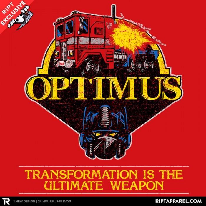 OptiMASK Prime t-shirt