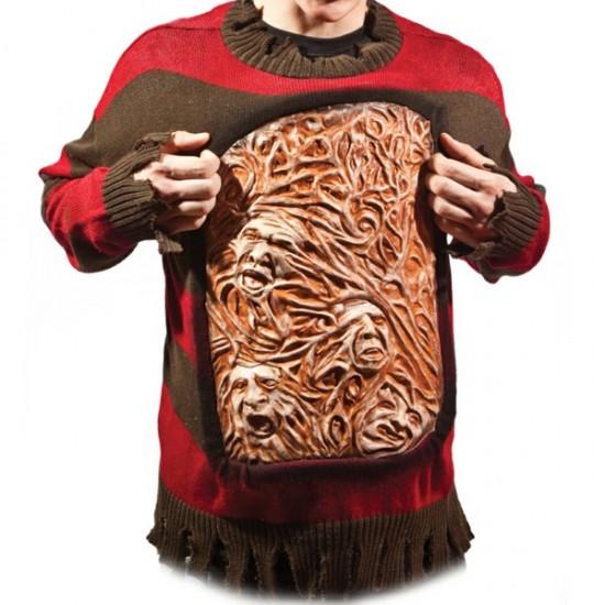 Freddy Krueger Animated Chest of Souls Sweater