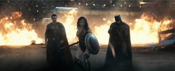 batman v superman - dc movie universe