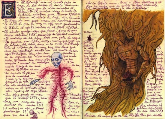 Guillermo del Toro's Incredible Sketchbooks