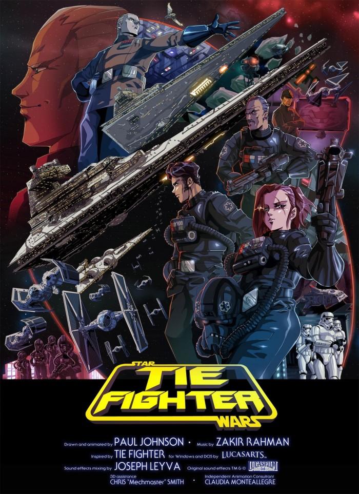 Star Wars Tie Fighter - Star Wars anime fan film