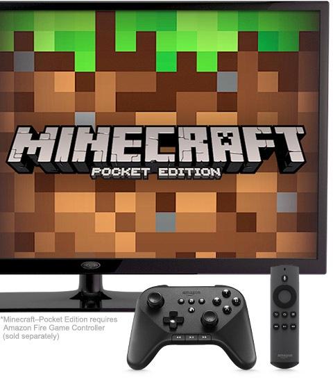 Amazon Fire TV Set-Top Box video games