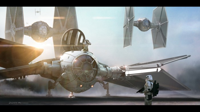 Star Wars: The Force Awakens concept art