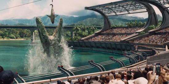 Jurassic World water dinosaur possibly a Spinosaurus