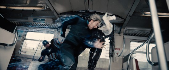 Avengers: Age of Ultron: Quicksilver in action