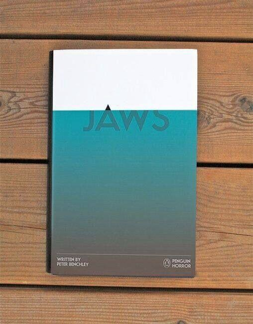 Jaws book cover art