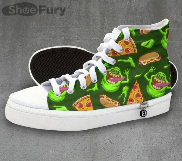Slimer Ecto sneakers