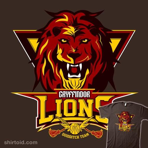 Gryffindor Lions t-shirt