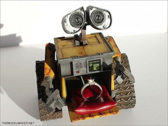 WALL-E Engagement Ring Box