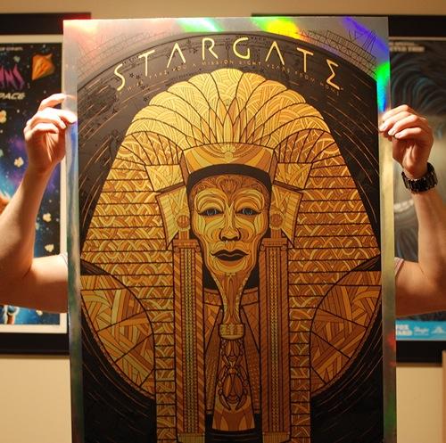 Todd Slater's Stargate Poster